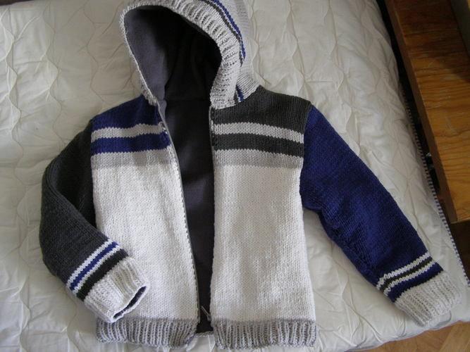 Makerist - Blouson laine et polaire - Créations de tricot - 1