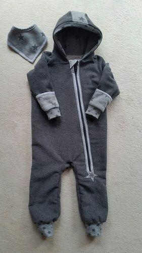 Makerist - Overall aus Walkloden Stoff für meinen kleinen Enkel - Nähprojekte - 1