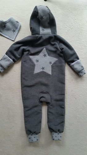 Makerist - Overall aus Walkloden Stoff für meinen kleinen Enkel - Nähprojekte - 2
