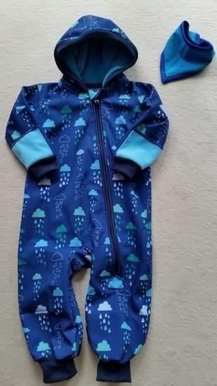Makerist - Softshell Overall für meinen Enkel - 1