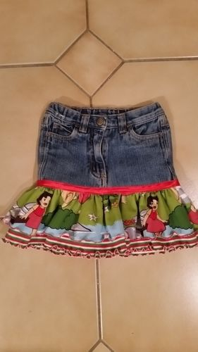 Makerist - Jeansröcke aus Stoff Reste - Nähprojekte - 2