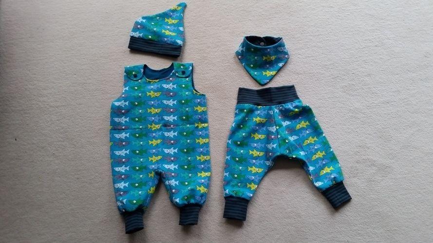 Makerist - Baby Overall, Baby Pumphose - Nähprojekte - 2