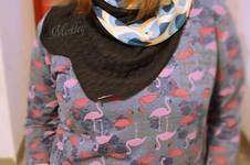 Makerist - Sweatkleid trifft auf Flamingos - 1