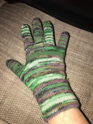Makerist - Fingerhandschuhe aus Sockenwolle für meinen Mitbewohner - 1