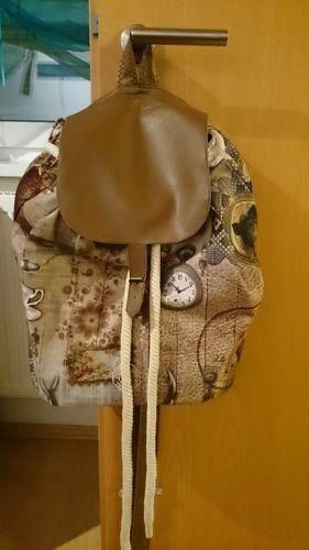Makerist - Rucksack mit Kordelzug #1 - Nähprojekte - 1