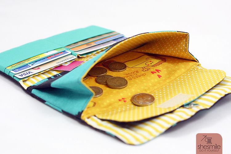 Makerist - Geldbeutel Frauenkram - Nähprojekte - 2