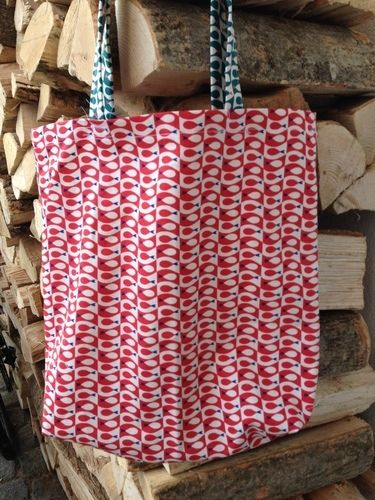 Makerist - Tasche Flosse - aus den Stoffen Flosse - von Frau Tulpe - für meine Neffen - Fliegenfischer! - Nähprojekte - 1