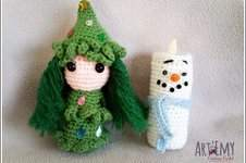 Makerist - Sapinette et Lumineige, décoration spéciale Noel - 1
