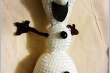 Makerist - Olaf la star de Noel, doudou en peluche spécial Noel - 1