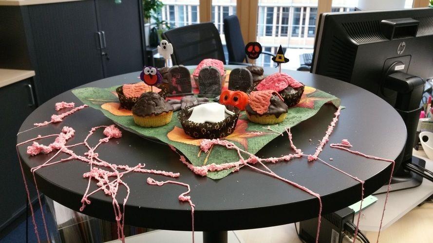 Makerist - Halloween Muffins - Torten, Cake Pops und Cupcakes - 3