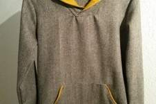 Makerist - Schicker Männerpulli aus Wollwebstoff - 1