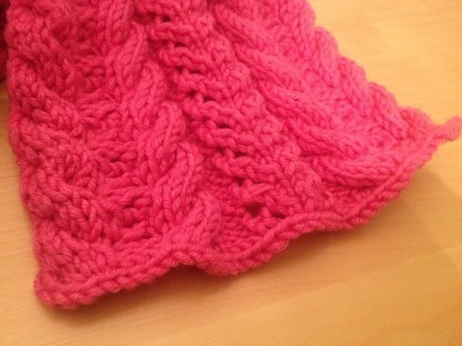 Makerist - Schal für meine Nichte - Strickprojekte - 2