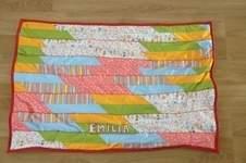 Makerist - Patchwork-Decke nach Anleitung von Pattydoo - 1