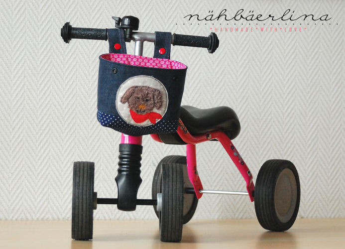 Makerist - Lenkertasche für Puky (oder Kinderfahrrad) genäht von nähbäerlina - Nähprojekte - 1