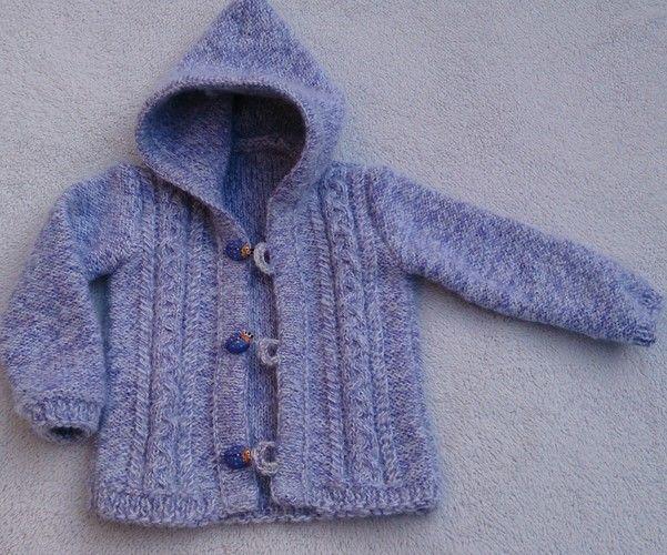 Makerist - Baby Kapuzenjacke für meine Nichte - Strickprojekte - 1
