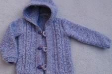 Makerist - Baby Kapuzenjacke für meine Nichte - 1