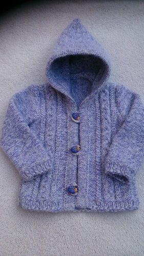 Makerist - Baby Kapuzenjacke für meine Nichte - Strickprojekte - 2