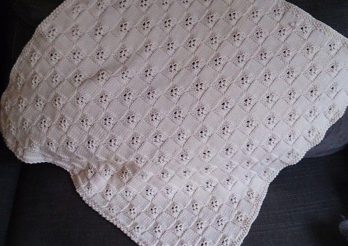 Makerist - Baby Decke aus Baumwolle - Strickprojekte - 3