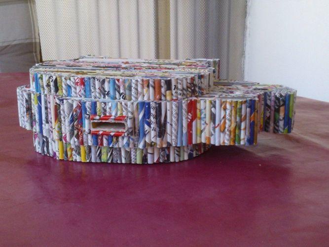 Makerist - Sparschwein - Papierröllchen - DIY-Projekte - 2