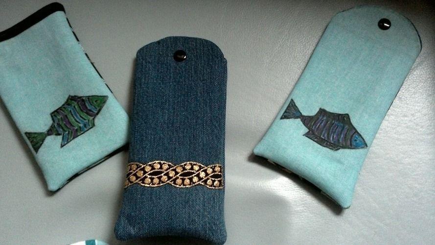Makerist - Brillenetuis aus alten Kleidungsstücken für kleine Weihnachtsüberraschungen - Nähprojekte - 2