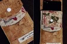 Makerist - Handytasche aus Kork und Leinen  - 1