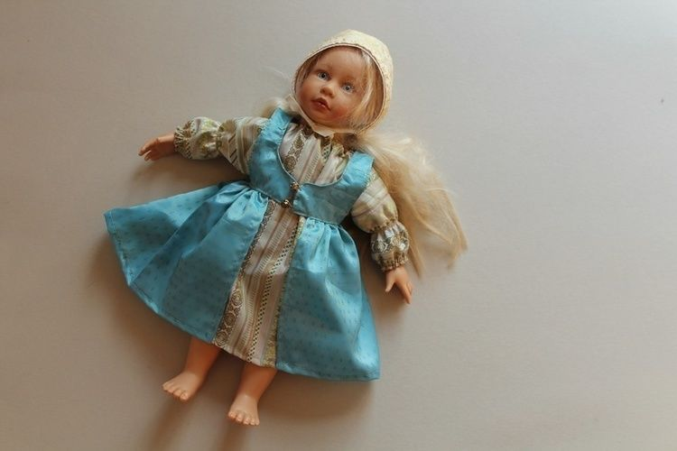 Makerist - märchenhaftes Puppenkleider-Set - Nähprojekte - 1