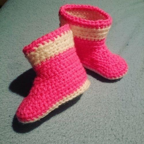 Makerist - Babyschuhe  - Häkelprojekte - 1
