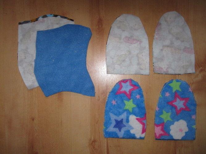 Makerist - Mütze mit Handschuhen - Nähprojekte - 3