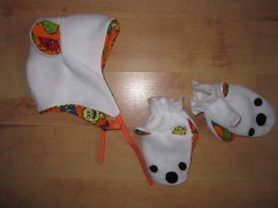Makerist - Handschuhe mit Maul und Ohren - 1