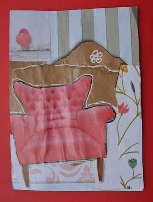Makerist - Sessel für A Postkarte - 1