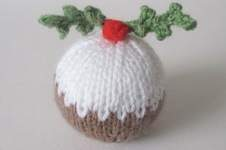 Makerist - Christmas Pudding Bauble - 1