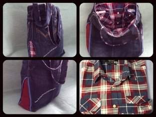 Makerist - Jeanshose+Hemd zu Tasche umgenâht - 1