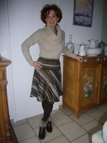 Makerist - jupe rayée - Créations de couture - 1