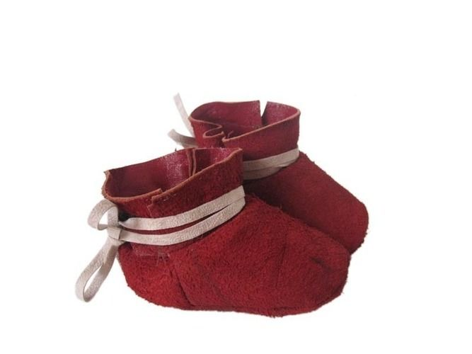 Makerist - rote Lederschühchen - Nähprojekte - 1