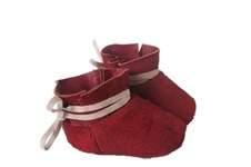 Makerist - rote Lederschühchen - 1
