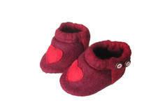 Makerist - rote Walkschühchen - 1