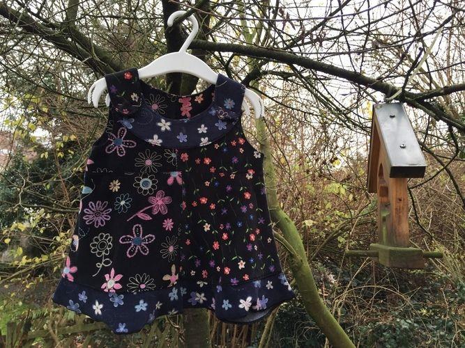 Makerist - das Kleidchen mein Mäuschen, das häng´n wir ans Vogelhäuschen - Nähprojekte - 1