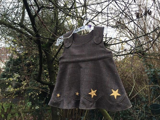 Makerist - goldene Sterne - Nähprojekte - 1