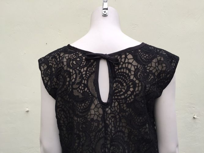 Makerist - ein festliches Kleid aus schwarzer Spitze - Nähprojekte - 3