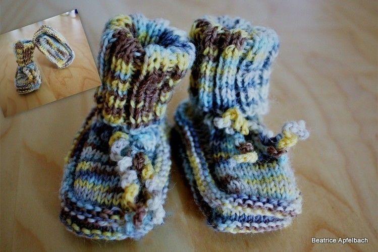 Makerist - Booties Klitzeklein - Strickprojekte - 1