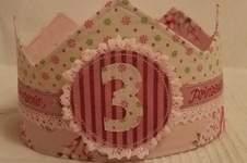 Makerist - Geburtstagskrone für Kinder aus Stoff von die Drahtzieherin - 1
