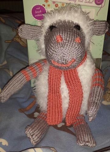 Makerist - Schaf mit Schal - Strickprojekte - 1