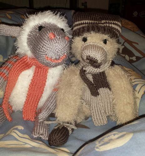 Makerist - Schaf mit Schal - Strickprojekte - 2