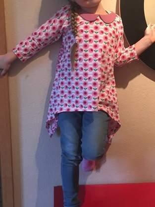 Makerist - Retro Little Ebby für's Tochterkind - 1