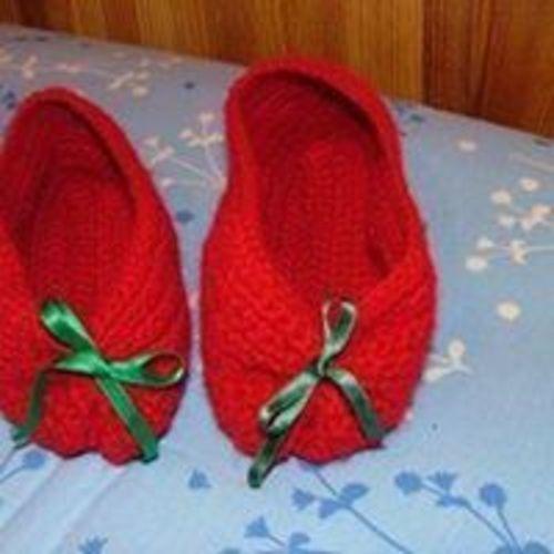 Makerist - chaussons de Noël - Créations de crochet - 1