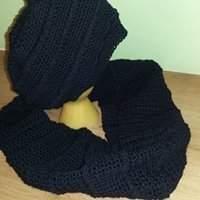 Makerist - ensemble bonnet, snood crocheté - 1