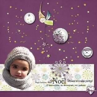 Makerist - ensemble bonnet et snood crocheté - 1