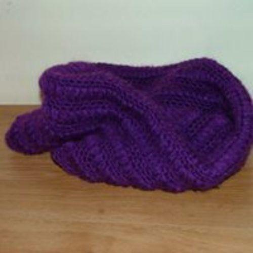Makerist - snood crocheté - Créations de crochet - 1