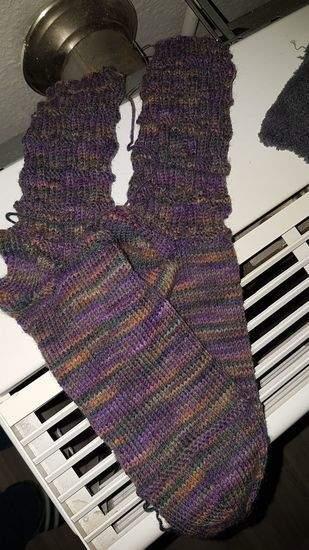 Makerist - Socken auf 2 Rundstricknadeln stricken  - 1