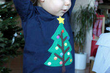 Makerist - BasicPulli mit Weihnachtsbaum-Applikation - 1